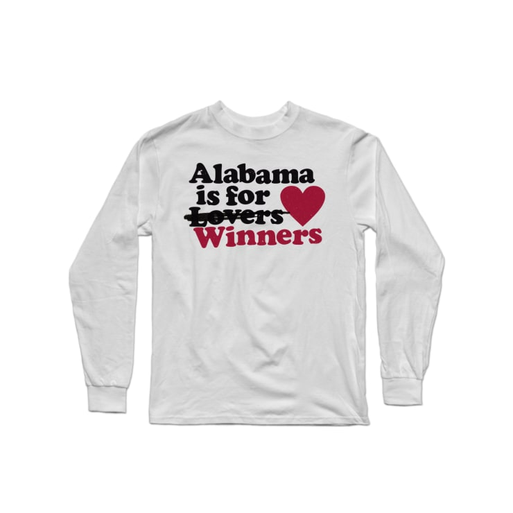 Alabama is for Winners Longsleeve Shirt