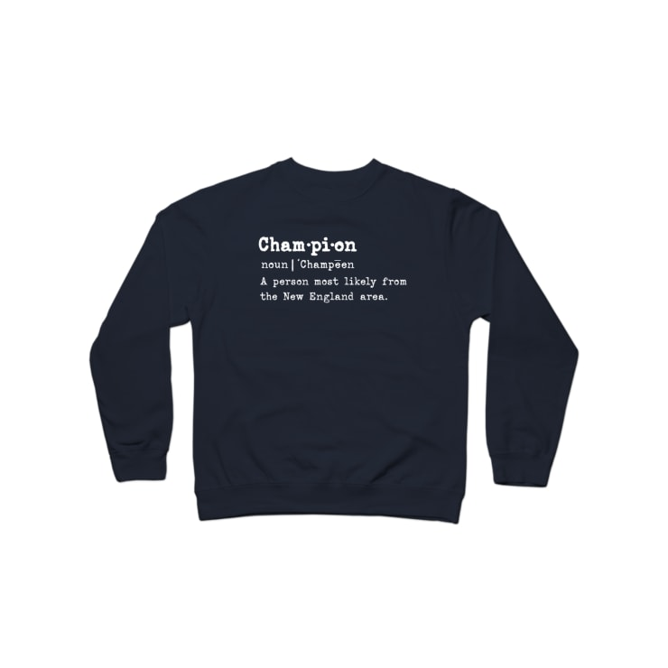 New England Champion Crewneck Sweatshirt