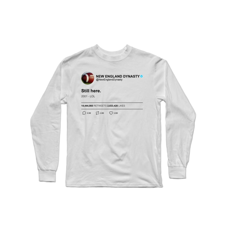 New England Dynasty Longsleeve Shirt