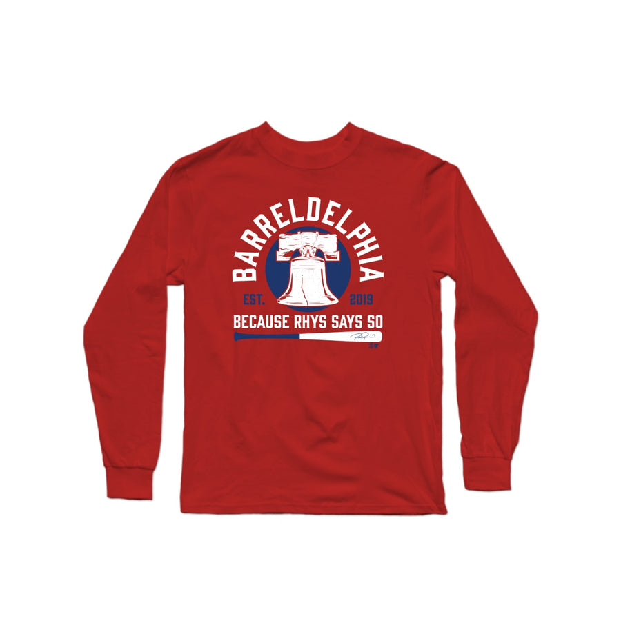 Barreldelphia Long Sleeve T-Shirt
