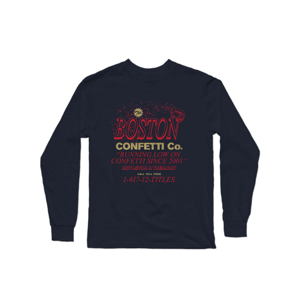 Boston Confetti Co. Long Sleeve T-Shirt | Long Sleeve T-Shirt | Bleacher Report Shop