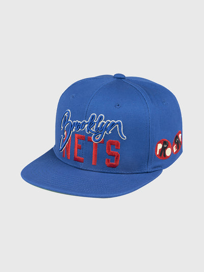 Joey Bada$$ x Brooklyn Nets High Crown Snapback Hat