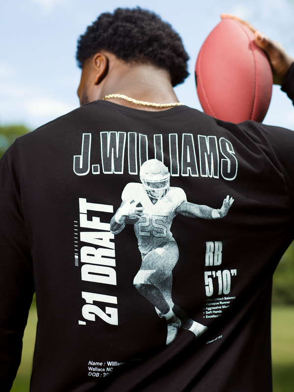 Javonte Williams Class of '21 Long Sleeve T-Shirt