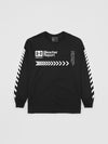 B/R Black Long Sleeve T-Shirt | Long Sleeve T-Shirt | Bleacher Report Shop
