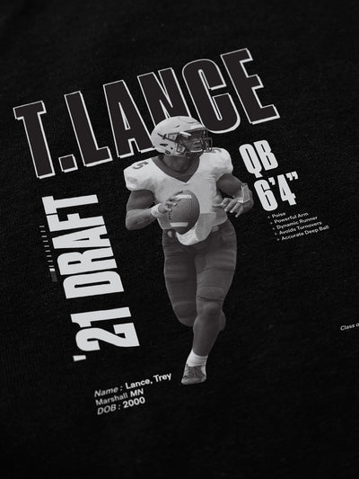 Trey Lance Class of '21 Long Sleeve T-Shirt