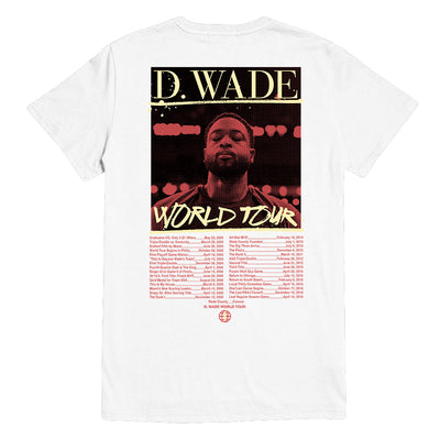 World Tour T-Shirt: White Back