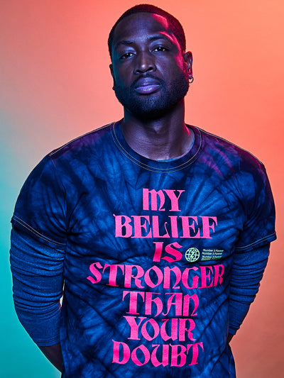 Dwyane Wade My Belief Is Stronger T-Shirt