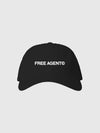 "Black ""Free Agent"" Dad Hat"