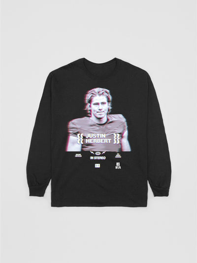 Justin Herbert 2020 Rookie Long Sleeve T-Shirt