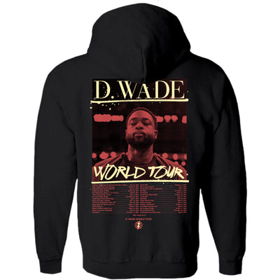 World Tour Black Hoodie Back