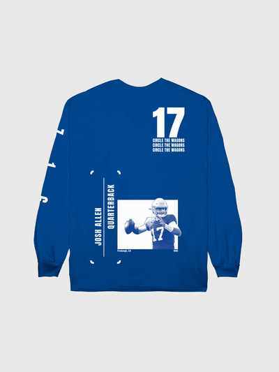 Josh Allen #17 Long Sleeve T-Shirt