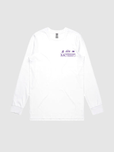 The Lakers Check The Credits Long Sleeve T-Shirt