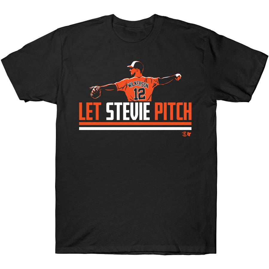 Let Stevie Pitch T-Shirt