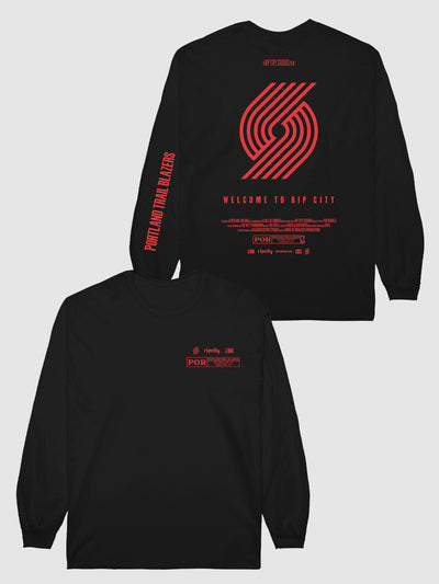 The Trail Blazers Check The Credits Long Sleeve T-Shirt