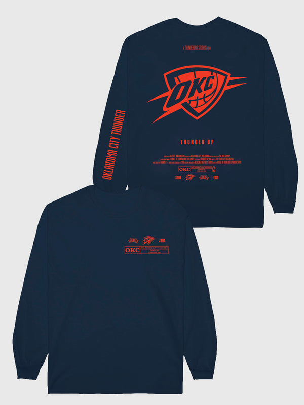 The Thunder Check The Credits Long Sleeve T-Shirt