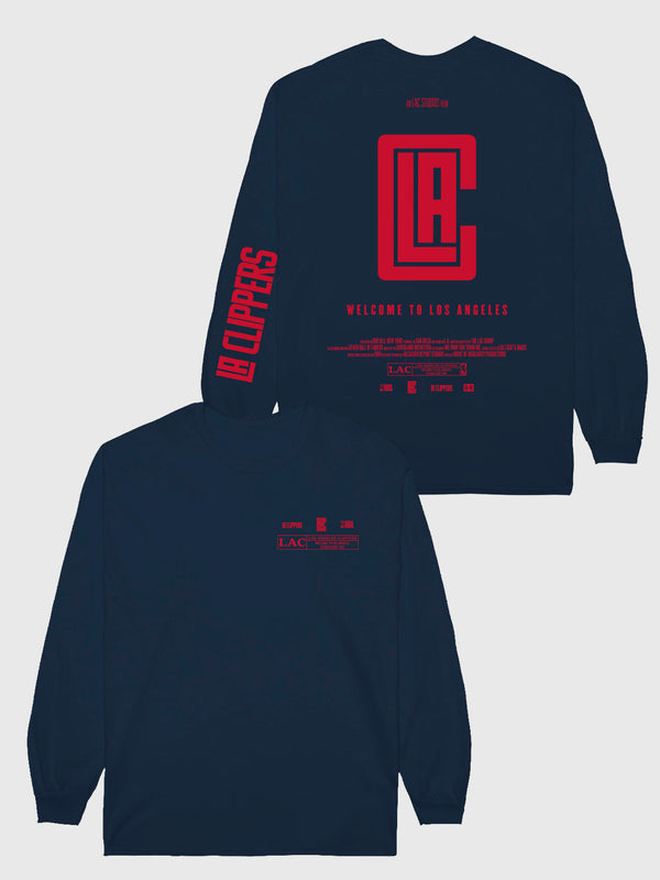 The Clippers Check The Credits Long Sleeve T-Shirt
