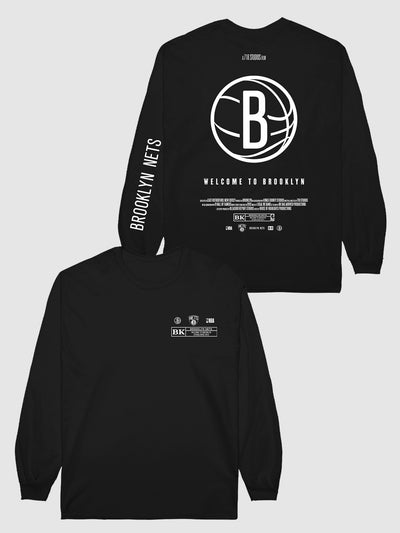 The Nets Check The Credits Long Sleeve T-Shirt