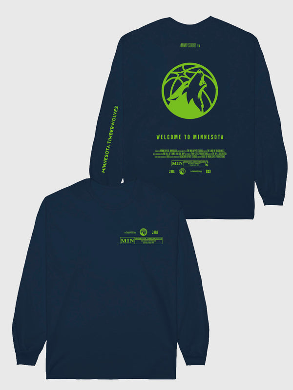 The Timberwolves Check The Credits Long Sleeve T-Shirt