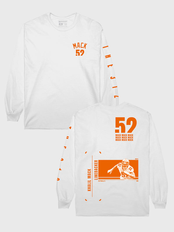 Khalil Mack #52 Long Sleeve T-Shirt