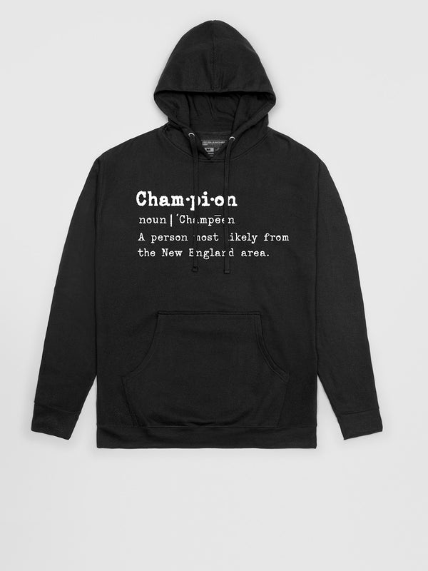 New England Champion Pullover Hoodie | Pullover Hoodie | Bleacher Report Shop