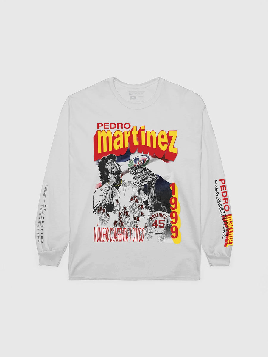 Pedro Martinez '99 Retro Long Sleeve T-Shirt