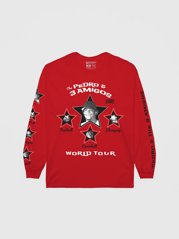 Pedro Martinez Three Amigos Long Sleeve T-Shirt | Long Sleeve T-Shirt | Bleacher Report Shop