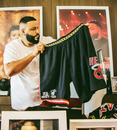 DJ Khaled x Miami Heat Swingman Shorts