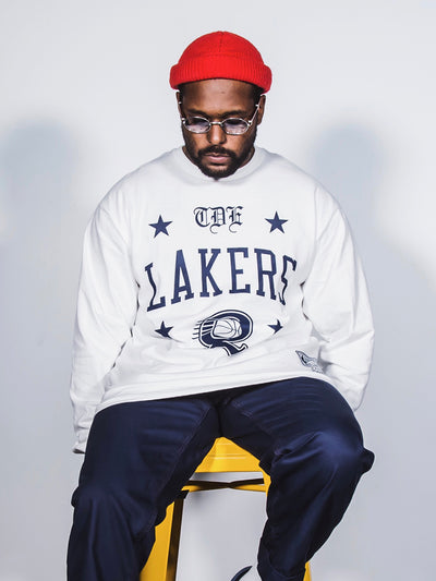 ScHoolboy Q x Los Angeles Lakers Long Sleeve T-Shirt