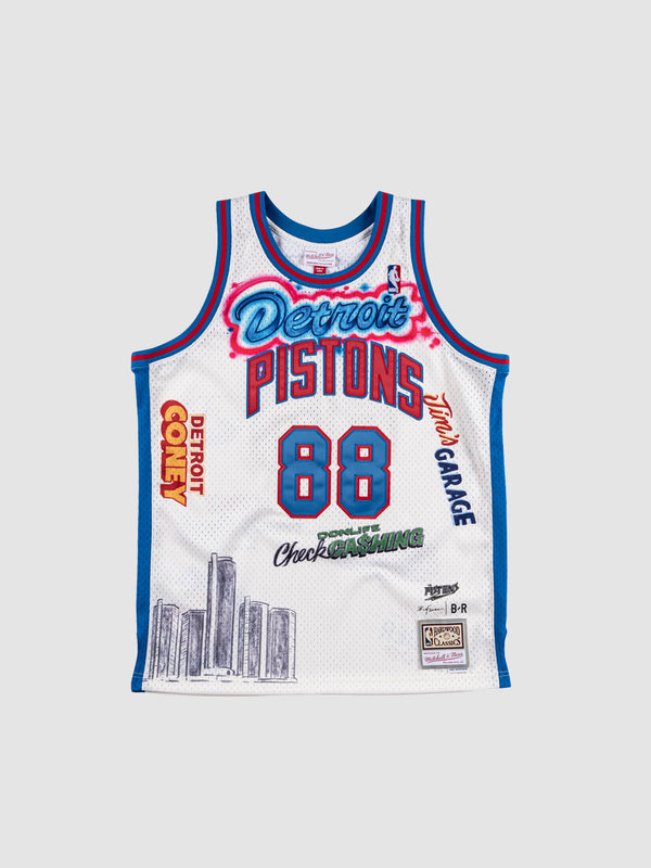 Big Sean x Detroit Pistons Swingman Jersey