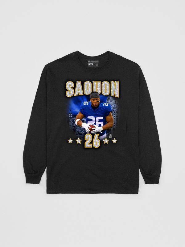 Saquon Barkley Diamond Longsleeve Shirt