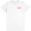 World Tour White T-Shirt Front