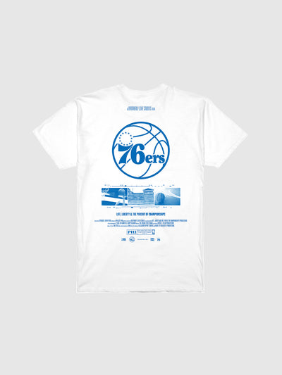 "White ""Wade County Festival"" T-Shirt"