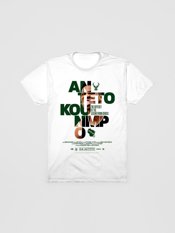 Giannis Antetokounmpo Check The Credits T-Shirt