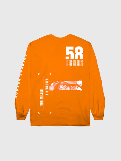Von Miller #58 Long Sleeve T-Shirt