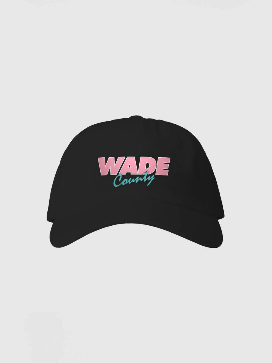 "Dwyane Wade Black ""Wade County"" Dad Hat"