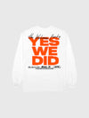 "Dwyane Wade White ""The Welcome Party"" Long Sleeve"