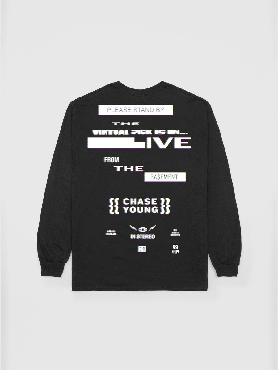Chase Young 2020 Rookie Long Sleeve T-Shirt