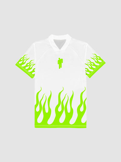 Billie Eilish B/R FC 2019 White Jersey | Jersey | Bleacher Report Shop