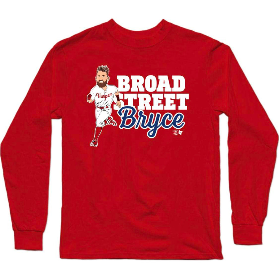 Broad Street Bryce Long Sleeve T-Shirt
