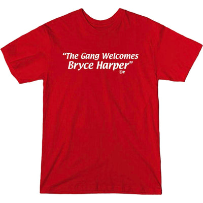 Bryce Gang T-Shirt Red