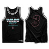 "Black ""Wade County"" Jersey"