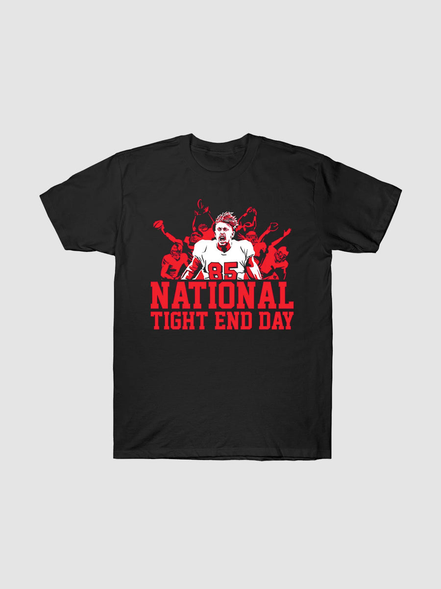 National Tight End Day T-Shirt | Bleacher Report Shop