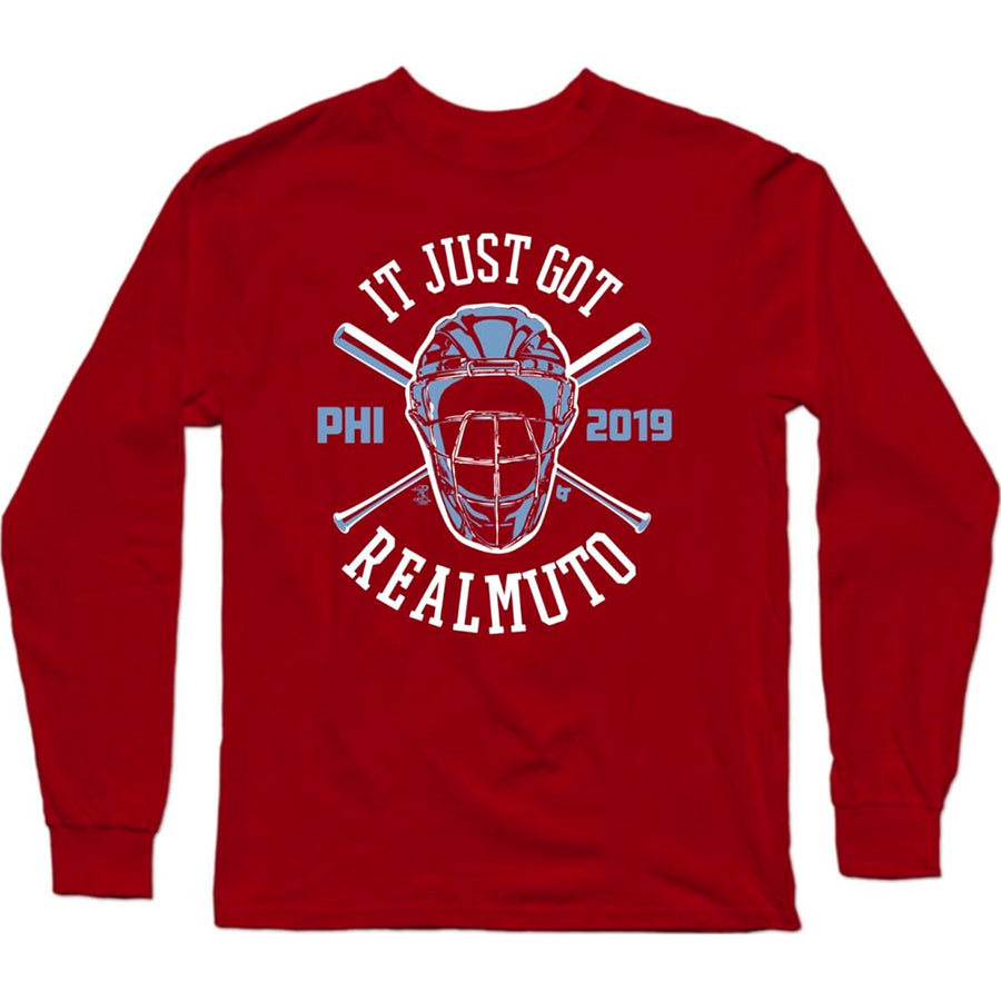 It Just Got Realmuto Long Sleeve T-Shirt