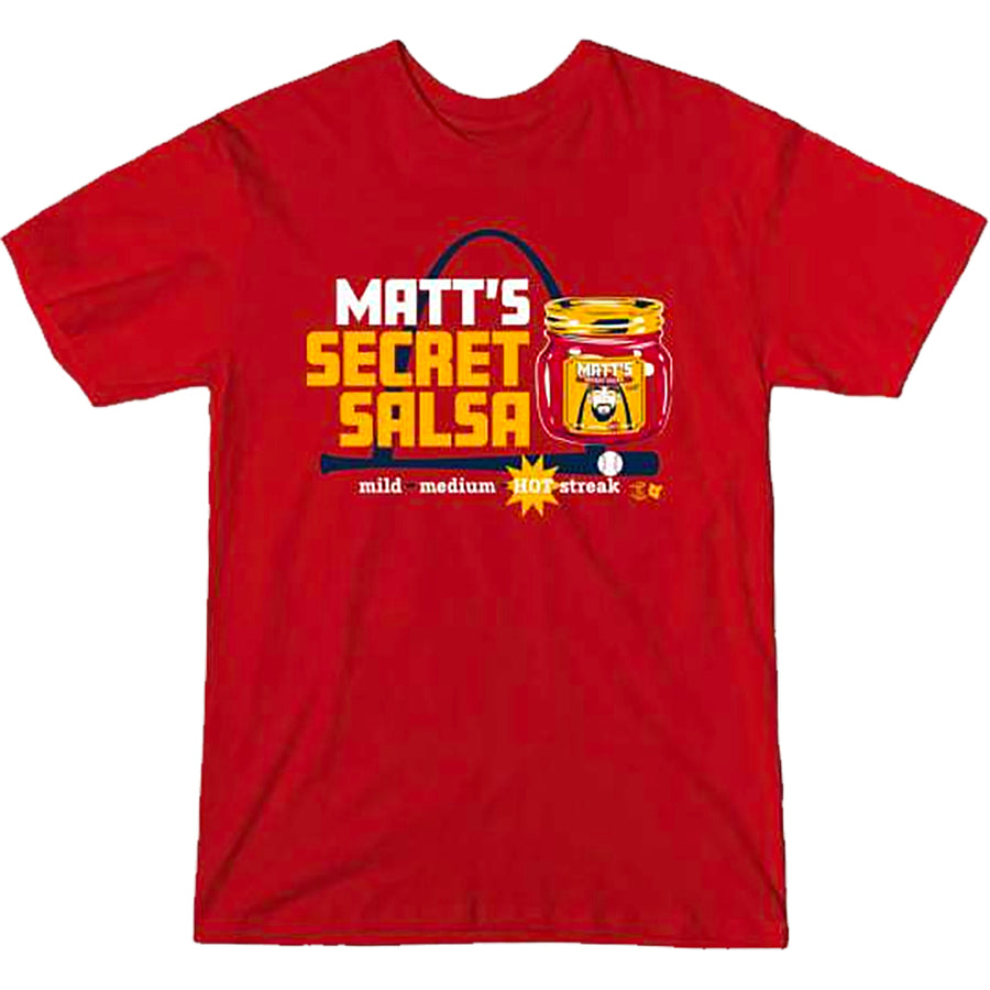 Matt Carpenter Matt's Secret Salsa T-Shirt