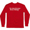 Bryce Gang Long Sleeve T-Shirt Red