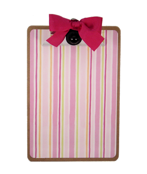 Pink Candy Stripe