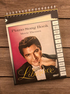 "Liberace ""Piano Song Book"" - Notebook"