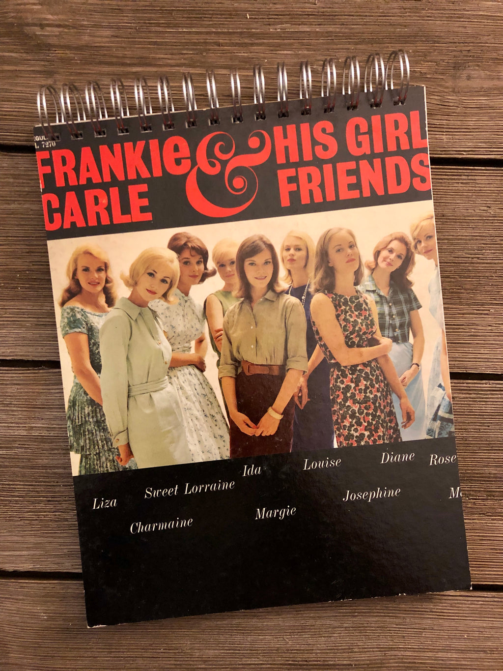 Frankie Carle & His Girl Friends - Notebook