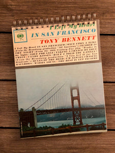 "Tony Bennett ""I Left My Heart in San Francisco"" Notebook"