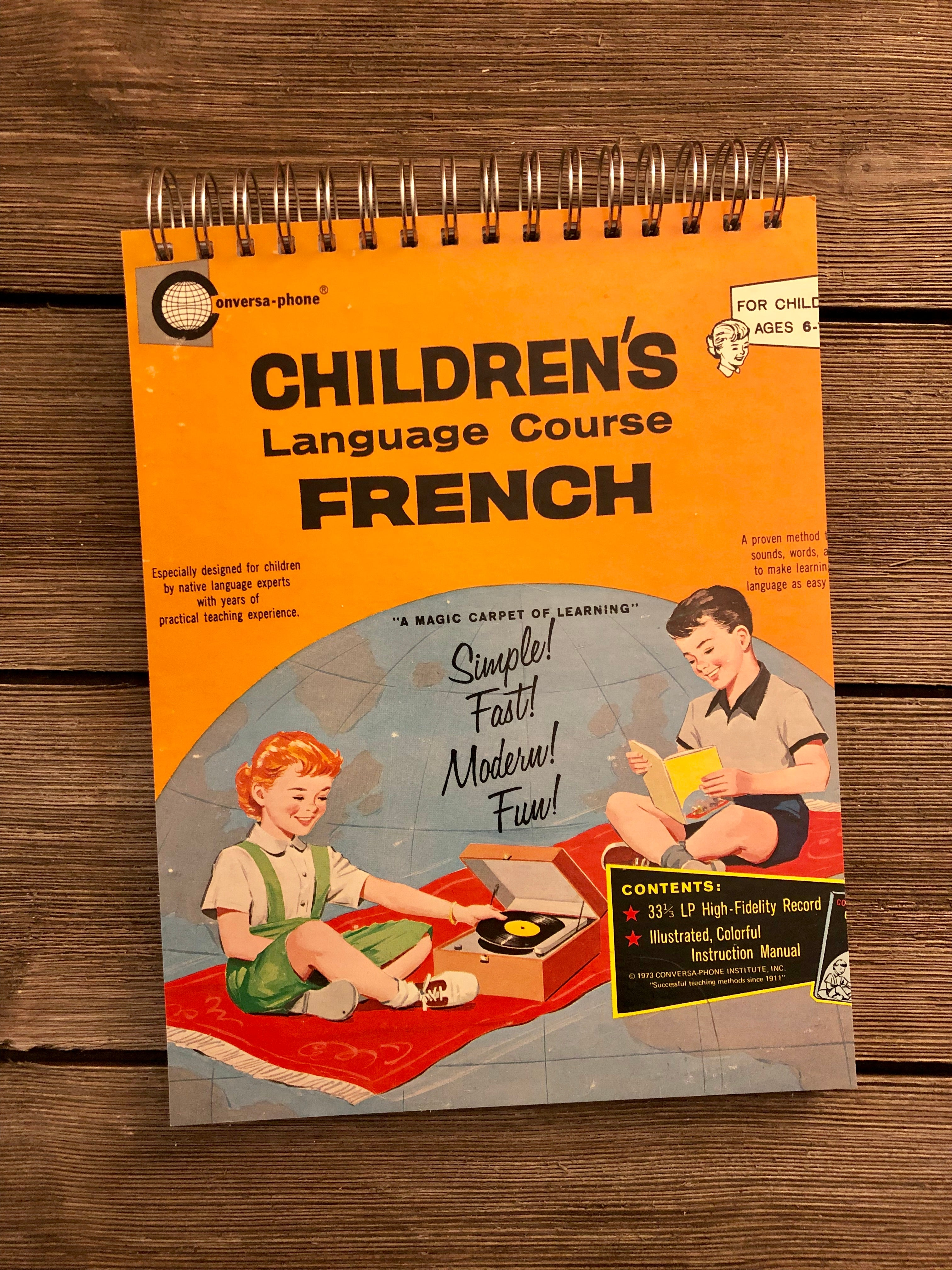 Children's Language Course (French) - Notebook